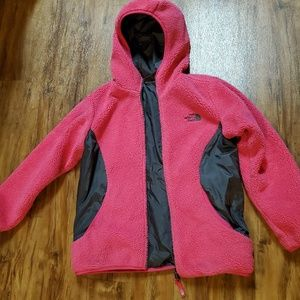 The North Face Reversible zipup coat